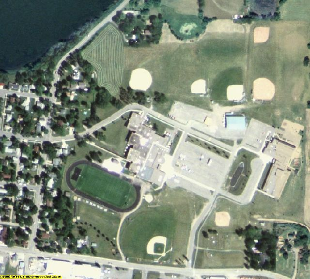 Stearns County, MN aerial photography detail