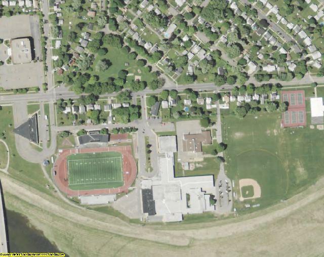 NY aerial photography detail