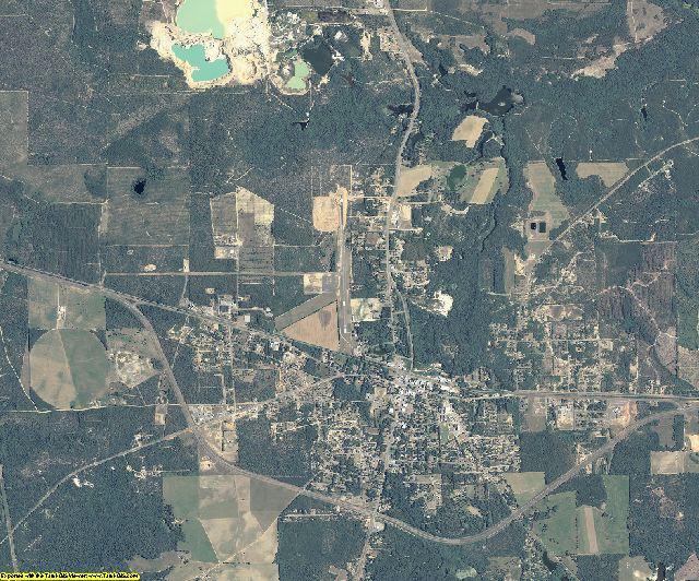 Taylor County, Georgia aerial photography
