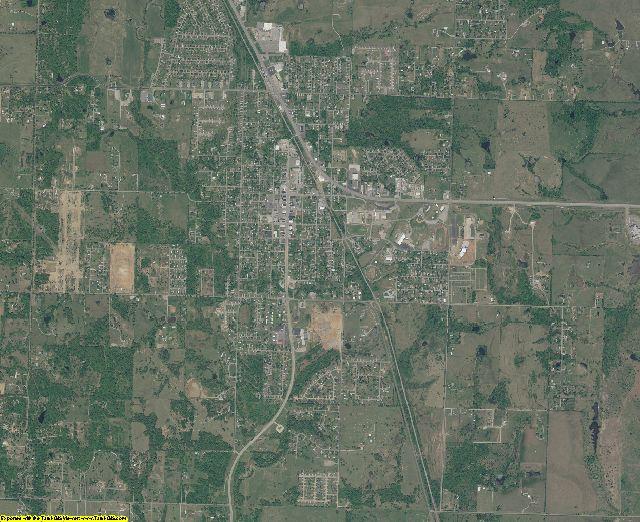Wagoner County, Oklahoma aerial photography