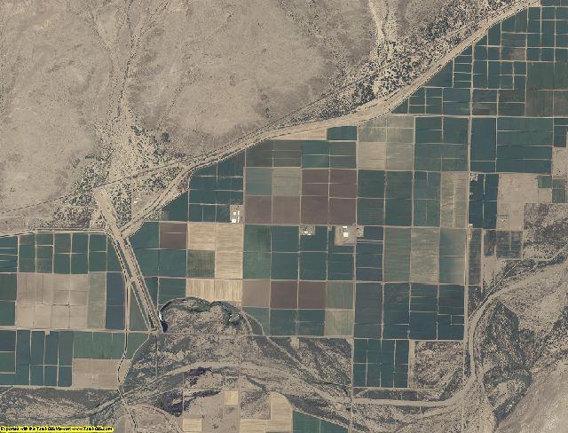 Yuma County, Arizona aerial photography