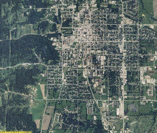 Adair County, Missouri aerial photography