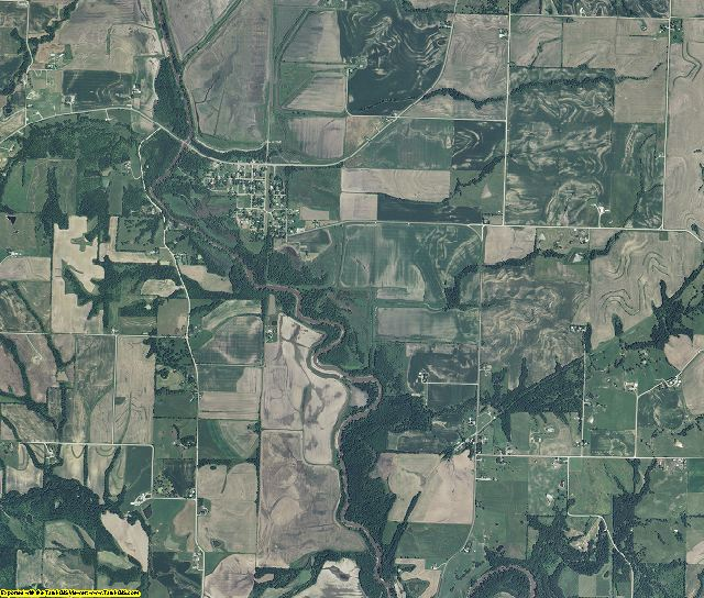 Andrew County, Missouri aerial photography
