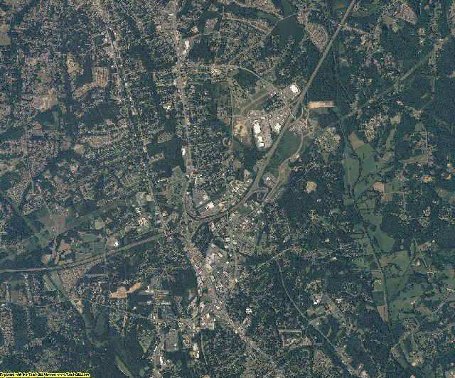 Cabarrus County, North Carolina aerial photography