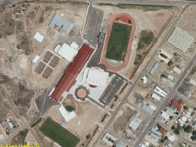 Cibola County, NM aerial photography detail