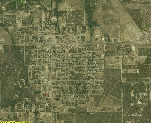 Duval County, Texas aerial photography