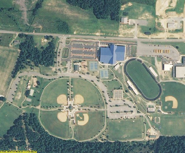 NC aerial photography detail