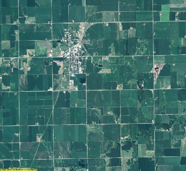 Polk County, Nebraska aerial photography