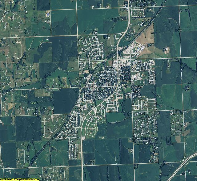 Sarpy County, Nebraska aerial photography