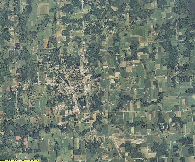 Taylor County, Wisconsin aerial photography