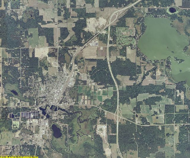 Washburn County, Wisconsin aerial photography