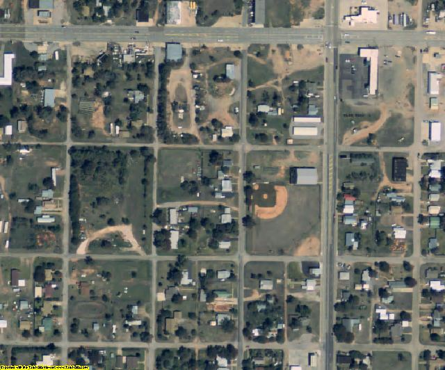 Wheeler County, TX aerial photography detail