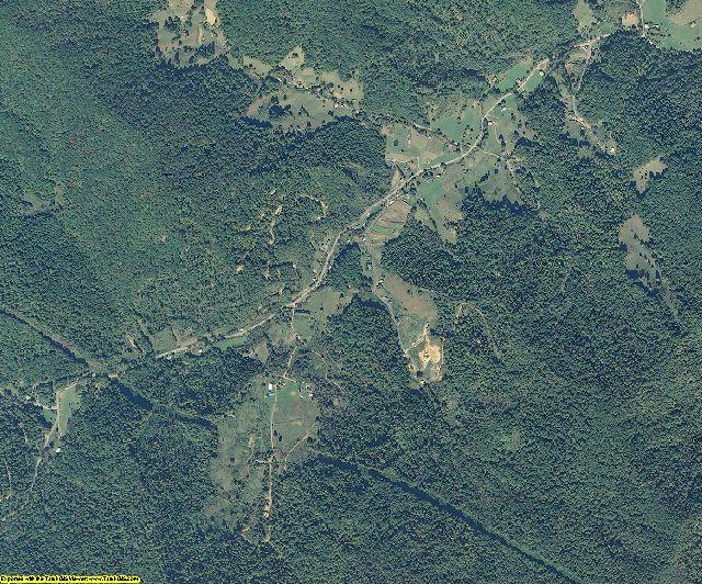 Yancey County, North Carolina aerial photography