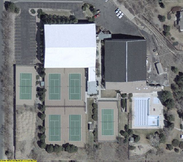 Colorado Springs, CO aerial photography