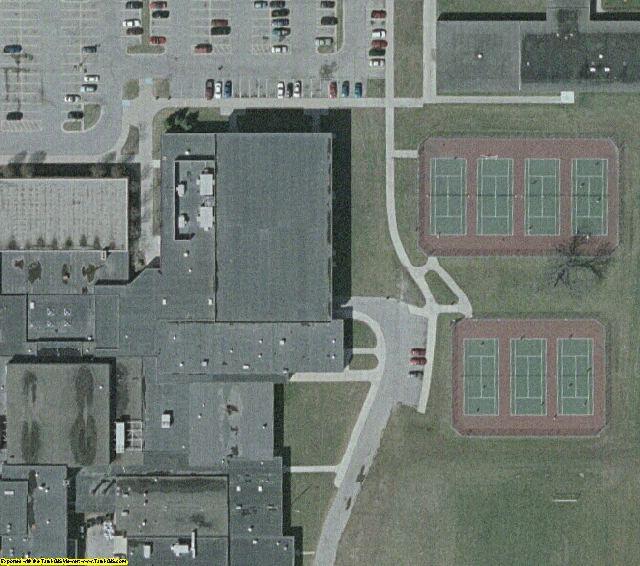 Detroit - Warren, MI aerial photography