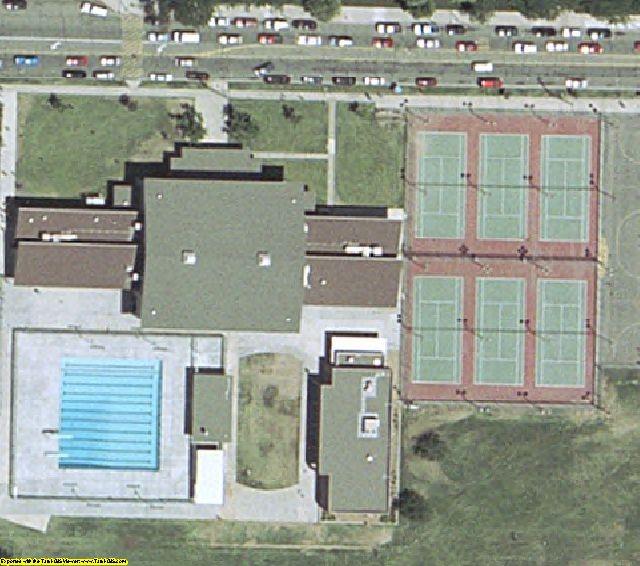 Fresno, CA aerial photography