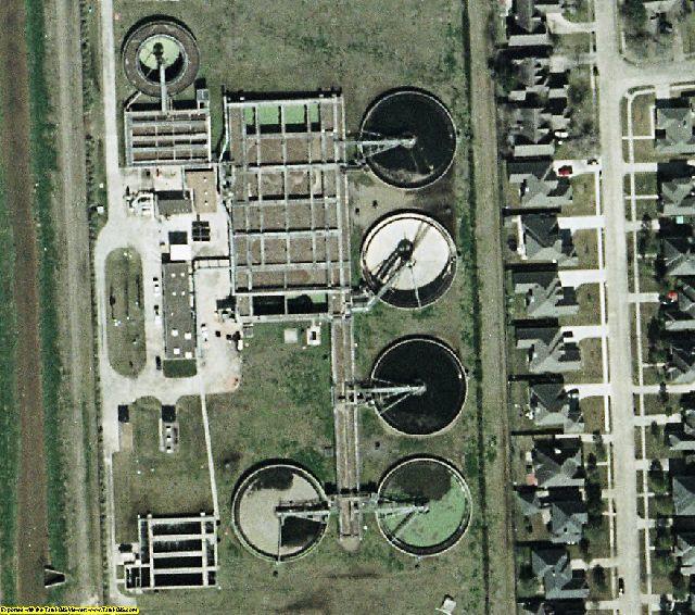Houston Galveston, TX aerial photography