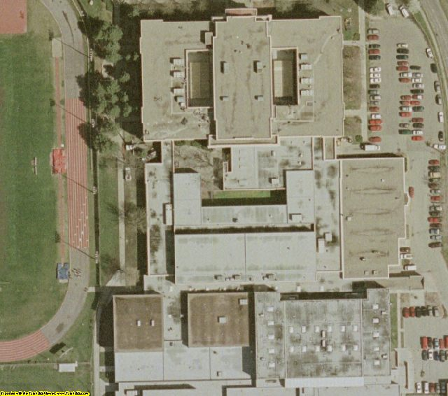 Lincoln, NE aerial photography
