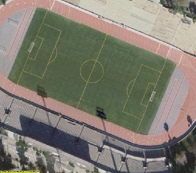 Los Angeles, CA aerial photography