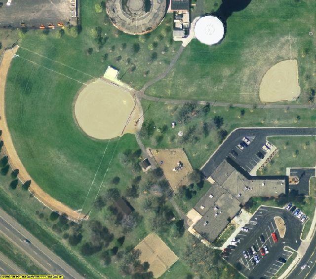 Minneapolis-St Paul, MN aerial photography