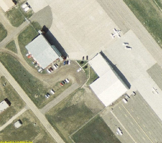 Pierre, SD  aerial photography