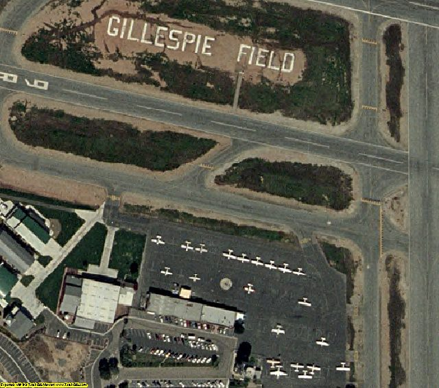 San Diego, CA aerial photography