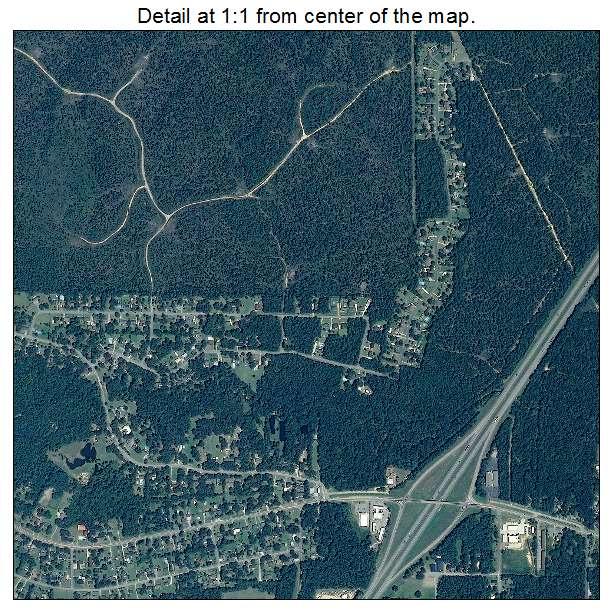 Saraland Alabama: Aerial Photography Map Of Saraland, AL Alabama