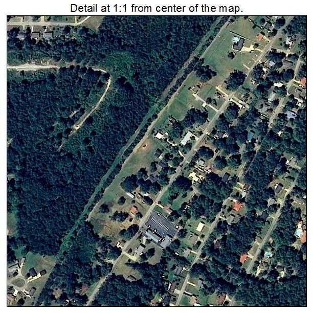 Weaver, Alabama aerial imagery detail