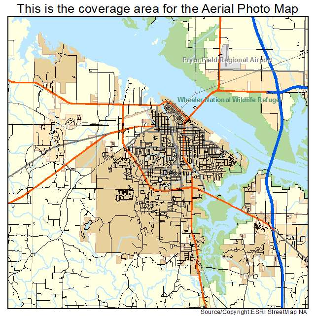 Amazing Decatur Alabama Map Pictures - Map Informations - revious.info