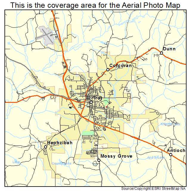 Where Is Troy Alabama Located Submited Images