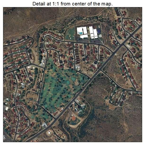 Aerial Photography Map Of Bagdad AZ Arizona
