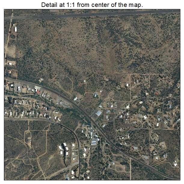 Map Of Oracle Arizona.Oracle Az Arizona Aerial Photography Map 2015