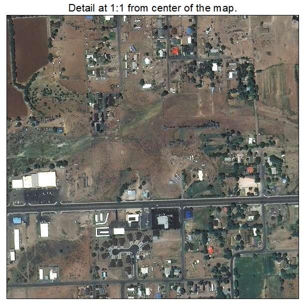 Aerial Photography Map of St Johns, AZ Arizona