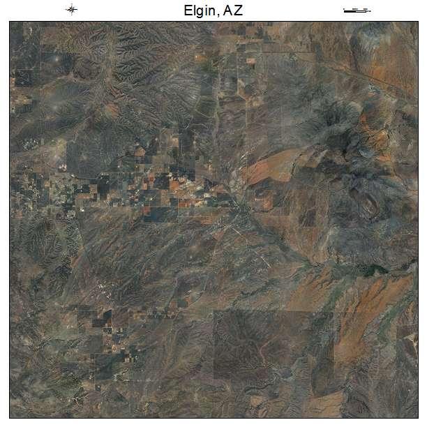 Map Of Elgin Arizona.Elgin Az Arizona Aerial Photography Map 2015