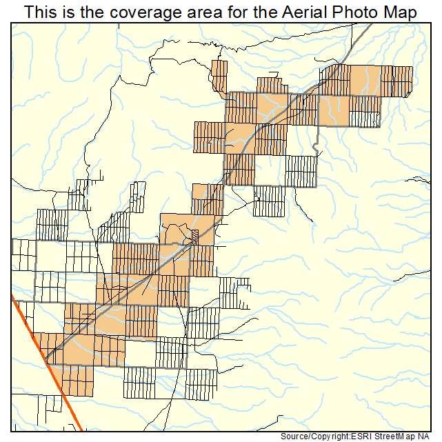Dolan Springs Arizona Map.Aerial Photography Map Of Dolan Springs Az Arizona