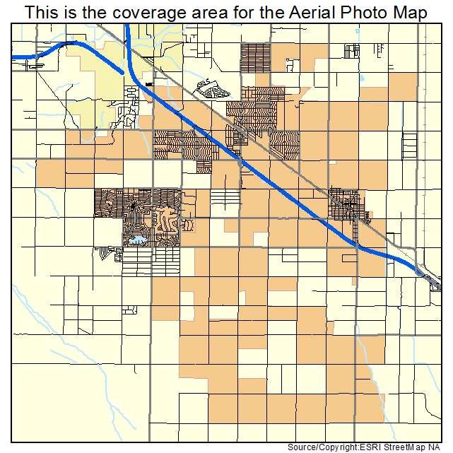 Map Of Eloy Arizona.Eloy Az Arizona Aerial Photography Map 2015