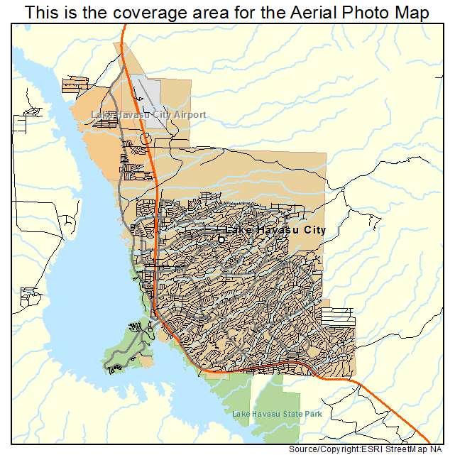 Lake Havasu City, AZ location map