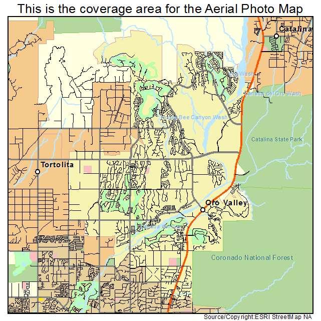Oro Valley, AZ location map