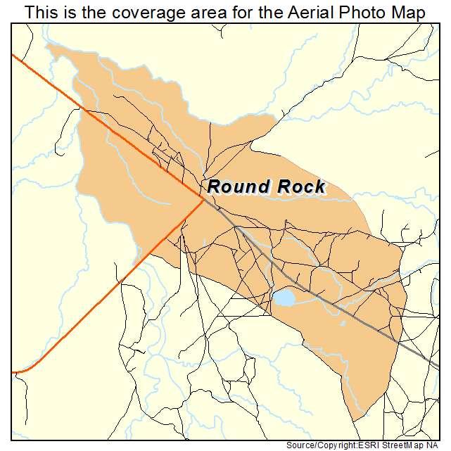 Round Rock, AZ location map