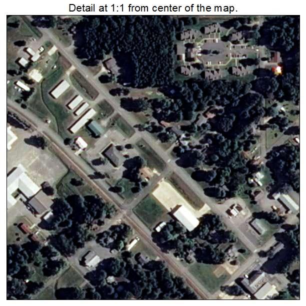 Kensett, Arkansas aerial imagery detail