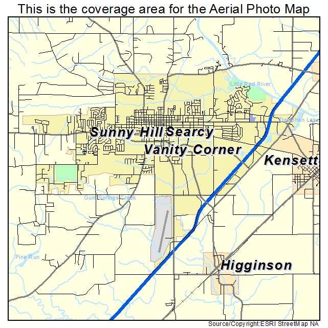 Us Map Searcy Arkansas