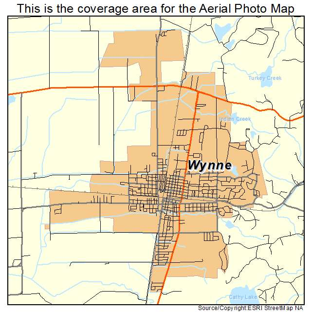 map of wynne arkansas Aerial Photography Map Of Wynne Ar Arkansas map of wynne arkansas