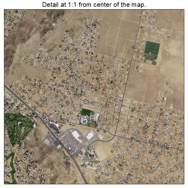 Aerial Photography Map Of Apple Valley Ca California
