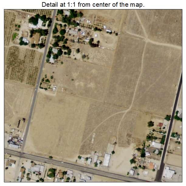 Littlerock, California aerial imagery detail