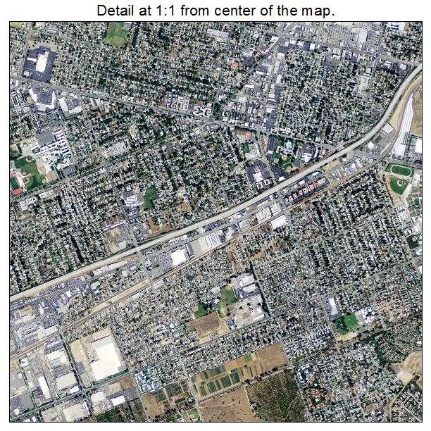 Riverside, California aerial imagery detail