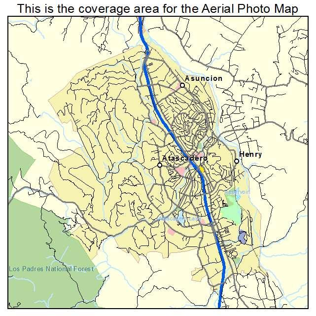 Atascadero, CA location map