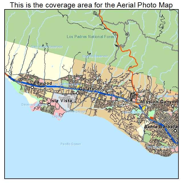 Goleta, CA location map