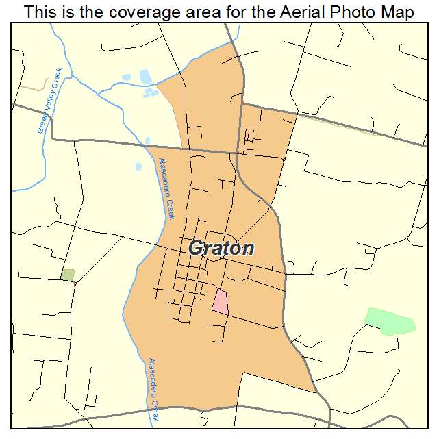 Graton California Map.Aerial Photography Map Of Graton Ca California