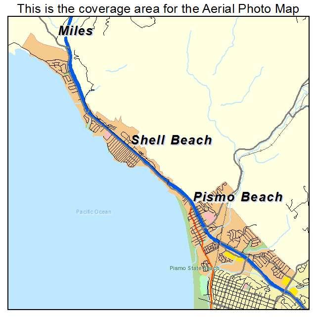 Street Map Of Pismo Beach Ca
