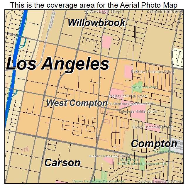 compton map